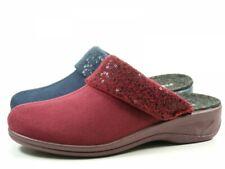Rohde 2410 Verden Schuhe Hausschuhe Pantoffeln Wechselfußbett Weite H, Schuhgröße:40, Farbe:Schwarz