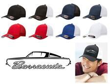 1964 1965 1966 Plymouth Barracuda Color Outline Design Hat Cap