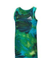 NWT Adidas Baby Girls' Tropical Dot Print Tank Top Tee Shirt