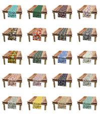Ambesonne Botanical Design Table Runner Dining Room Kitchen Decor in 3 Sizes
