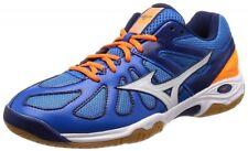 Mizuno Badminton shoes WAVE SMASH LO4 71GA1860 Blue × White × Orange