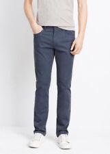 "NWT VINCE  MENS PANTS 98% cotton, 2% elastane.blue  young slim fit INSEAM =30"""