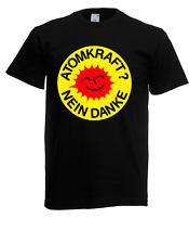 Herren T-Shirt Atomkraft - Nein Danke!  bis 5XL