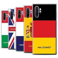 Personnalisé Drapeau National Nation Coque pour Samsung Galaxy Note 10+/Plus/5G