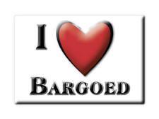 Souvenir uk-wales fridge magnet United kingdom I Love bargoed caerphilly ()