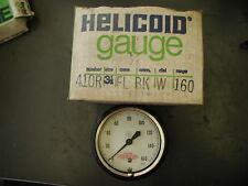 "Helicoid Gauge 3 1/2"" dial 160 PSI New"