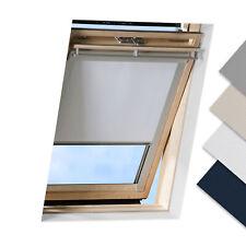 Store occultant pour fenêtres de toit Velux Fakro Roto avec revêtement thermique