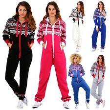 Women AZTEC PRINT Hooded Zip Up New Jumpsuit Playsuit Plus size S-4xlL Size 8-22