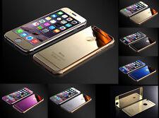 Spiegel Panzerglas iPhone 6 / 6 Plus Hartglas Schutzglas Folie 9H (VORNE+ RÜCK)
