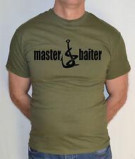 Master Baiter, carpa, pesca , pescatore, Divertente T-Shirt