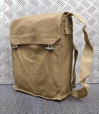 Autentico Esercito / MILITARE GAS BAG. Vintage Spalla / laterale / Messenger Bag-G1