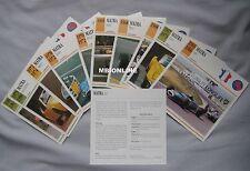 Matra Collectors Classic Car Cards