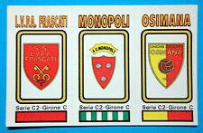 FIGURINA CALCIATORI PANINI 1978/79 SCUDETTO -SERIE-C2 n.576 NUOVA