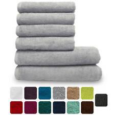 """Lanudo® Handtuch """"Pure Line"""" Set 2x Duschtuch + 4x Handtuch 600g/m² Badetuch NEU"""