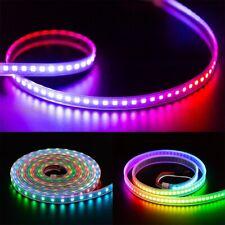 WS2812B 1m/2m/5m 30/60/100/144leds/m TV RGB LED Strip Light WS2812ECO IC DC5V
