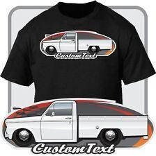 Custom Car Art T-shirt 1962 63 64 1965 Datsun 320 Pickup Truck