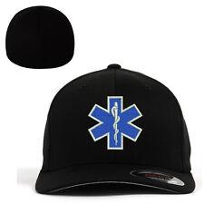 Flexfit BASEBALL Military Cap Hat EMT EMS Emergency Medical Services Paramedic