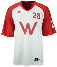 adidas Wisconsin Badgers Unrivaled Football Jersey shirt basketball bucky men's