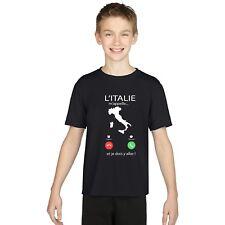 T-shirt ENFANT GARÇON L'ITALIE M'APPELLE...