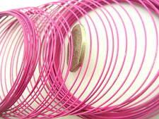 8 METRI Bracciale filo 0,6 mm alluminio rosa artigianale / gioielli filo gioielli trovare