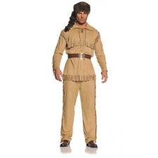 Frontiers Man Adult Costume Wild West Native American Davy Crockett  Std-XXL