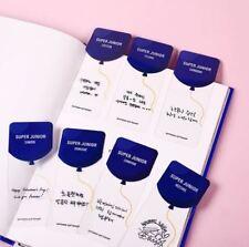 SUPER JUNIOR SMTOWN GIFTSHOP OFFICIAL GOODS VALENTINE DAY BOOKMARK NEW