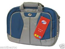 AMERICAN TOURISTER Laptop Briefcase Case Document Bag Blue