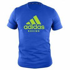 adidas Herren Community T-Shirt Blau-Grün UVP 29,9 Boxing MMA Muay Thai Training