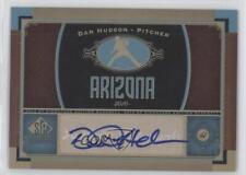 2012 SP Signature Collection Autographed #AZ7 Daniel Hudson Auto Baseball Card