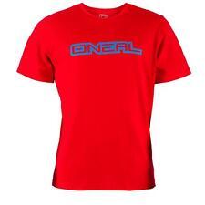 ONeal Piledriver T-Shirt Rot Baumwoll Freizeit Shirt MX MTB DH FR Motocross WOW