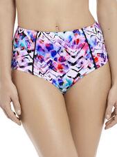 Fantasie Malundi High Bikini Brief 6450 Bottoms Sizes S M L XL 2XL - Multi