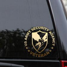 US Army Security Agency Decal Sticker Veteran Truck Car Window Laptop