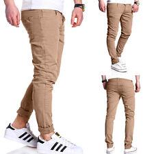 G.B.D. pantalón slim fit chino pantalones vaqueros pitillo beige/negro/caqui/gris NUEVO