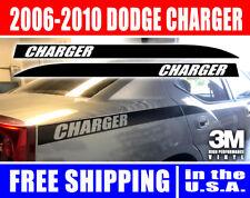 Dodge Charger Back Quarter Panel Stripes decal Kit 2006, 2007, 2008, 2009, 2010