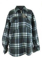 Chaqueta De Leñador Camisa térmica Negro/Gris Cuadros m-3xl