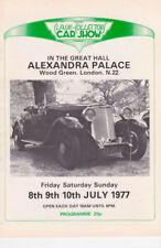 Classic & Collectors Car Show Guide 1977