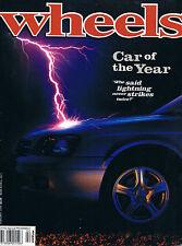 Wheels Feb 99 Liberty Car of the Year Prado GXL Jackaroo 9-5 Wagon Chrysler Neon
