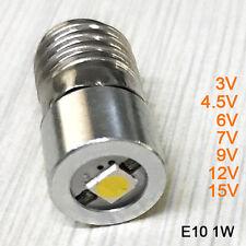 E10 P13.5s 0.5w 1w 3v 4.5v 6v 7v 9v 12v 15v For Focus led flashlight bulbs torch