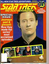 WoW! STAR TREK TNG #19 Journeys Past & Present! Patrick Stewart Speaks!