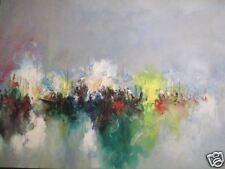 Gino Trame olio (a spessore) su cartone cm.72,5x50