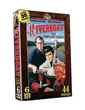 RIVERBOAT THE COMPLETE SERIES New Sealed 6 DVD Set Burt Reynolds Darren McGavin