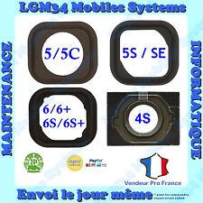 MEMBRANE CAOUTCHOUC SPACER SOUPLE BOUTON HOME IPHONE 4S 5 5C 5S SE 6 6+ 6S 6S+