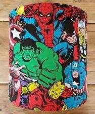 Marvel Comic Heroes Fabric Lampshade - Hulk, Thor, Spiderman, Iron Man