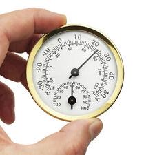 Analog Humidity Gauge Hygrometer Indoor Thermometer Temperature Meter Us