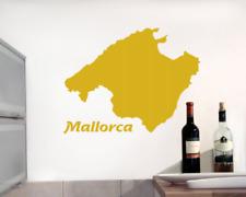 Wandtattoo Insel Mallorca Wandaufkleber  25 Farben 6 Größen