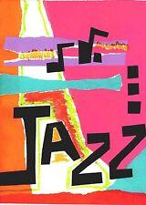 0561 Vintage Music Poster Art Glastonbury  Jazz  *FREE POSTERS