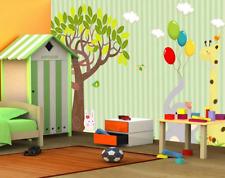 3D Cartoon Balloon Animal Paper Wall Print Wall Decal Wall Deco Indoor Murals