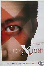 "LEON LAI ""LEON X U"" ASIAN PROMO POSTER - Cantopop Four Heavenly Kings, Li Ming"