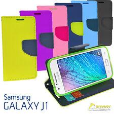 Diary Wallet Flip Case Cover For Samsung Galaxy J1 J100Y + Scren Guard