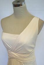 NWT BCBG MAX AZRIA $328 WHITE Formal Evening Gown XSP